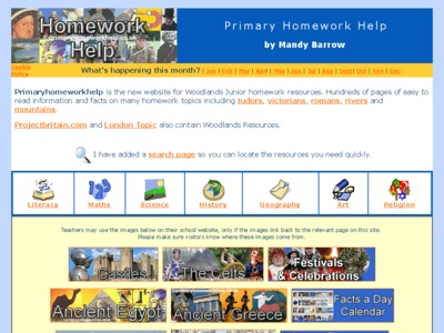 Primary homework help geography